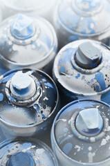 Obraz Full Frame Shot Of Spray Cans - fototapety do salonu