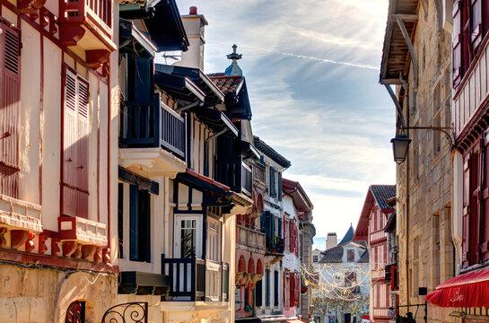 Saint-Jean-de-Luz, France, HDR Image