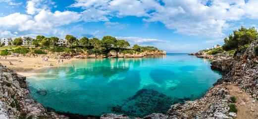 Wall Mural - Landscape with amazing bay at Palma Mallorca Island, Spain