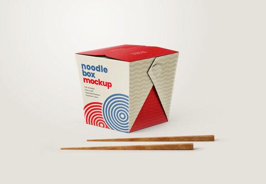 Noodle Box Mockup