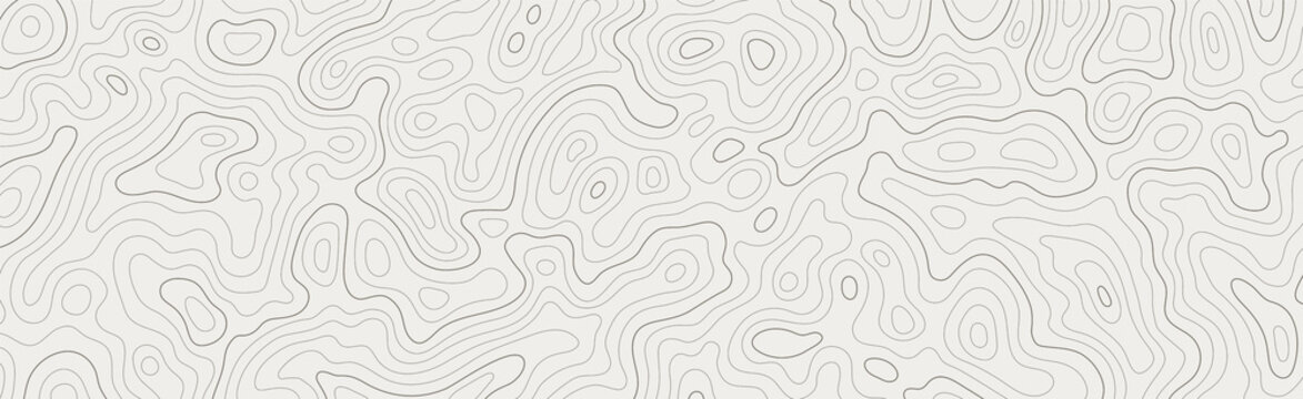 Topographic map patterns, topography line map. Vintage outdoors style