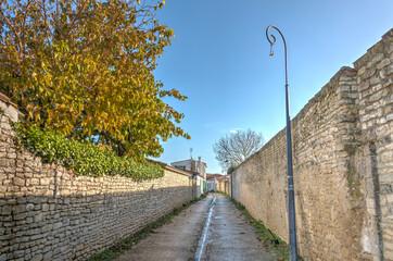 Wall Mural - Saint Martin de Ré, France, HDR Image
