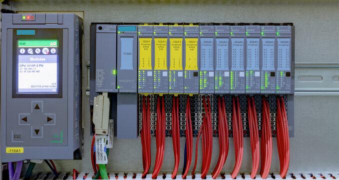 Siemens simatic S7 Steuerung Safety Eingänge