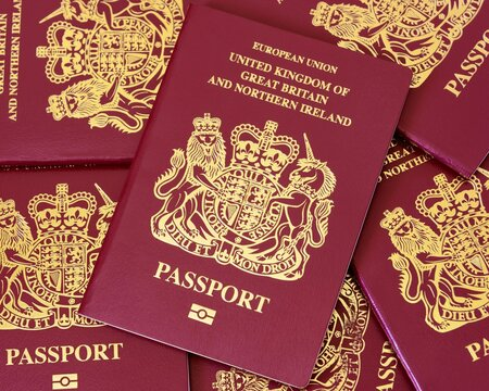 United Kingdom passports ,British passports enables the bearer to travel worldwide and serves as proof of citizenship