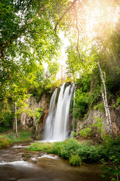 Spearfish Falls South Dakota