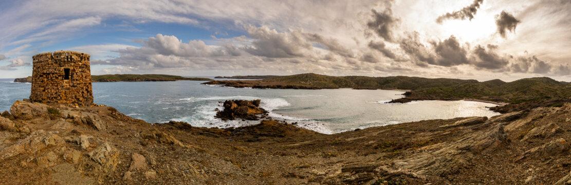Camí de Cavalls en Menorca a su paso por sa torreta