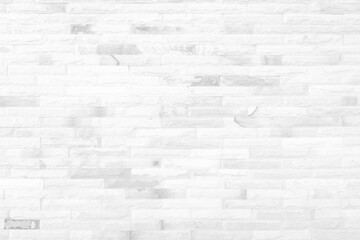White grunge brick wall texture background for stone tile block painted in grey light color...