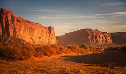 Wall Mural - Scenic Red Sand Desert of the Arizona