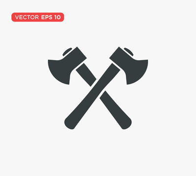 Axe Icon Vector Illustration Design Editable Resizable EPS 10