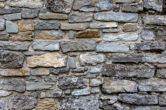 Old masonry. Background and texture of old stones for text