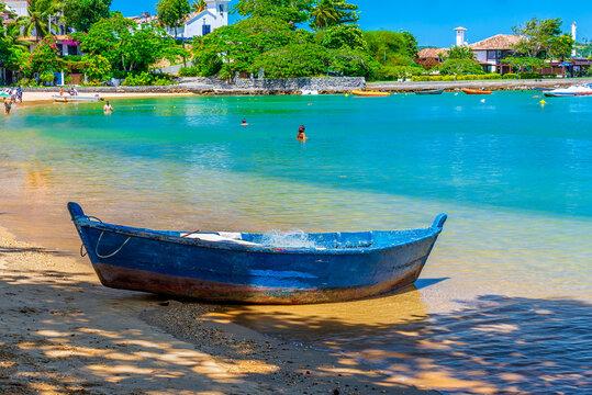 Ossos Beach in Buzios, Rio de Janeiro, Brazil. Seascape of Buzios