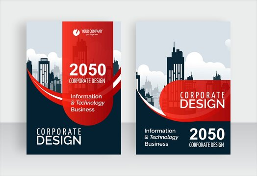 corporate business book cover now here, flyer template, brochure cover design, easy to edit your business name and text now edit easy