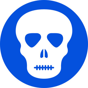 Skelton Isolated Vector icon that can be easily modified or edited