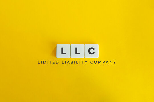 Limited Liability Company (LLC) Business Concept Background.