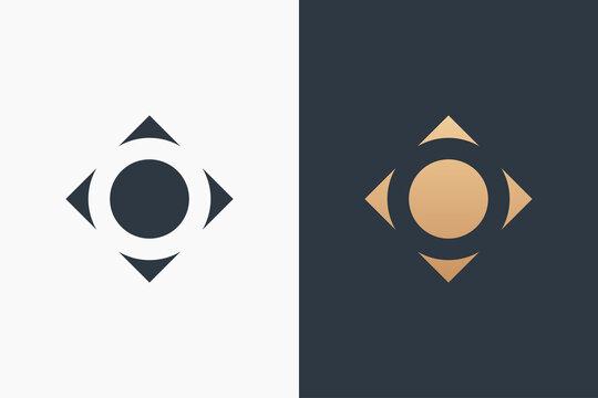 Letter O Logo Template Design Vector Illustration Design Editable Resizable EPS 10