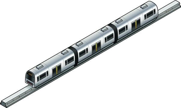 An urban commuter monorail.