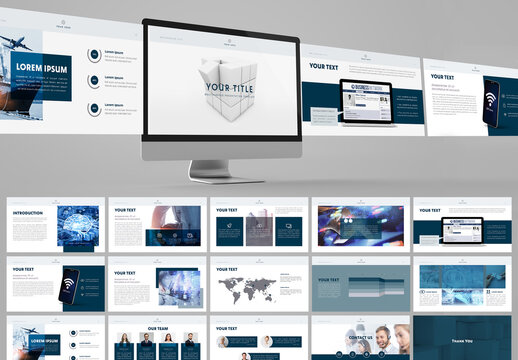 Blue Style Multipurpose Digital Presentation Layout