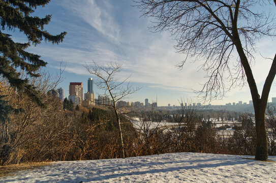 A View of Edmonton Downtown from Goverment Hill