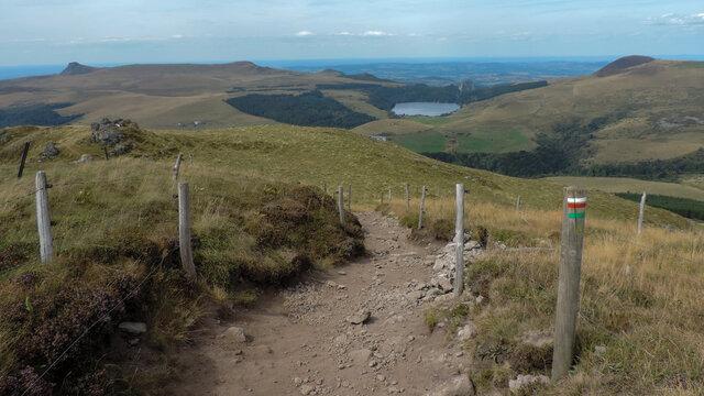 Hiking Trail In Pass Croix Morand
