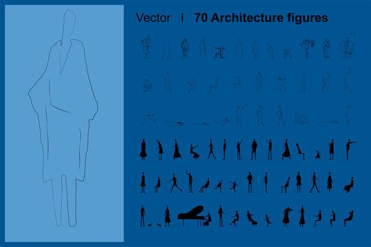 70 Architecture figures