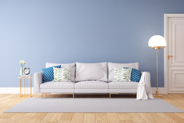 Fototapeta Table And Chairs On Hardwood Floor At Home obraz