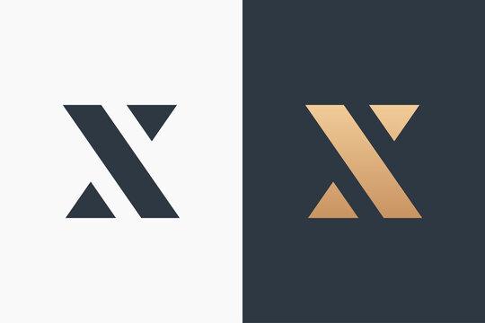 Letter X Logo Template Design Vector Illustration Design Editable Resizable EPS 10