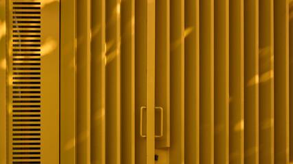 Yellow Amarillo Vertical Lines
