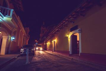 Night street Fotomurales