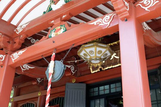 Low Angle View Of Senso-ji