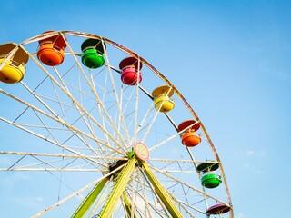 Obraz The County Fair Wherl - fototapety do salonu