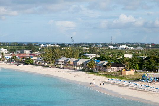 Grand Turk Island Beach Morning View