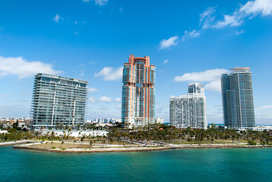 Miami South Beach Residential Skyscrapers