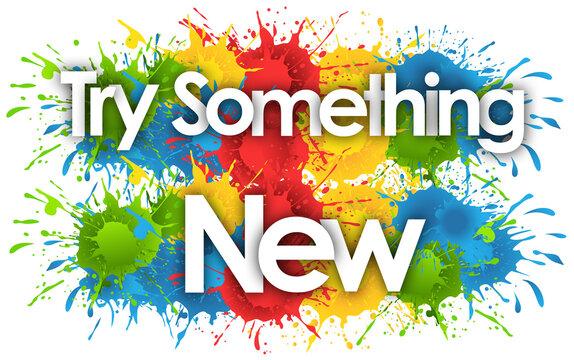Try Something New in splash's background
