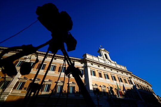 Italian PM Conte faces a confidence vote in lower house of parliament, in Rome