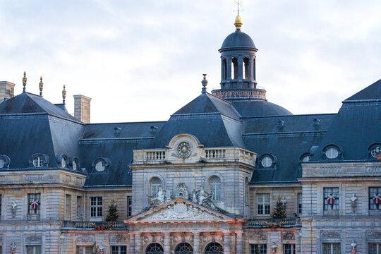 Toits du château de Vaux-le-Victomte