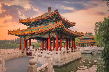 Beihai Park is an imperial garden