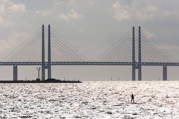 Fototapeta Most nad Sundem  obraz