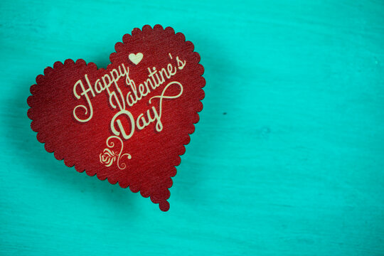Valentines day background, Red hearts