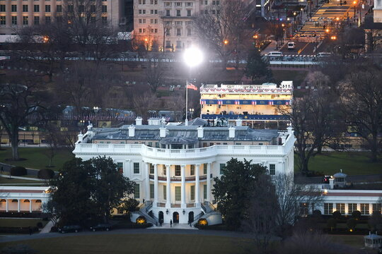 Preparations ahead of U.S. President-elect Joe Biden's inauguration, in Washington