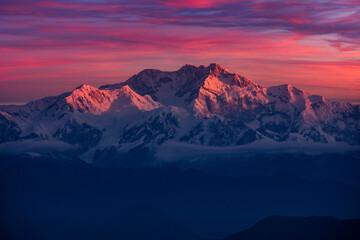 Kangchenjunga at Sunrise