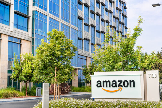 Oct 8, 2020 Sunnyvale / CA / USA - Amazon.com headquarters in Silicon Valley, San Francisco bay area