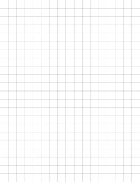 GRAPH 2x2 per inch. Graph Paper . Quad Ruled. Grid Paper for Composition for School/College students, math, science, engineering , Journal , daily graph , Drawing and Graphing.  size 8.5 x 11 inch. GR
