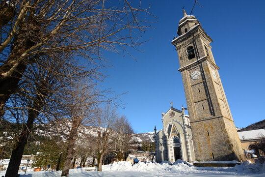 Santuario della Madonna di Guadalupe. Santo Stefano d'Aveto. Liguria. Italy