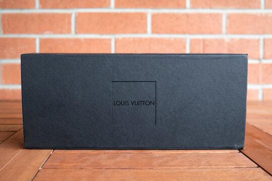 Louis Vuitton logo editorial illustrative fashion