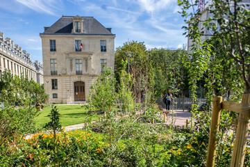 Place du Père Teilhard de Chardin, 75004 Paris Fototapete
