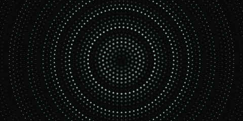 Black and white Halftone background dotted background Pop-art overlay texture
