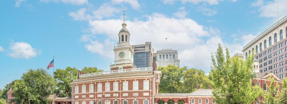 Independence Hall (Pennsylvania State House) Philadelphia Pennsylvania USA
