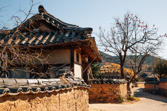 Andong Hahoe Folk Village in Andong, Korea