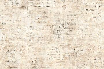 Fototapeta Newspaper paper grunge vintage old aged texture background