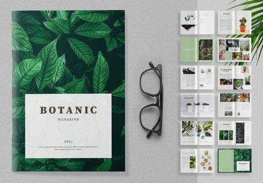 Botanic Magazine Layout
